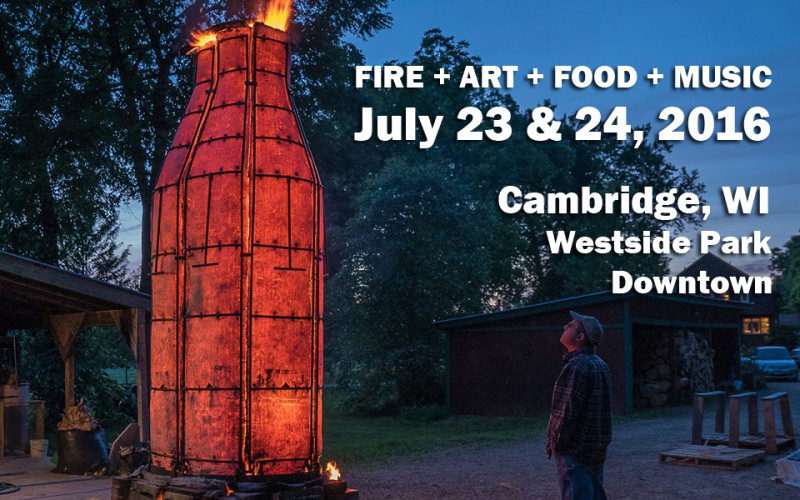 Fire + Art + Food + Music