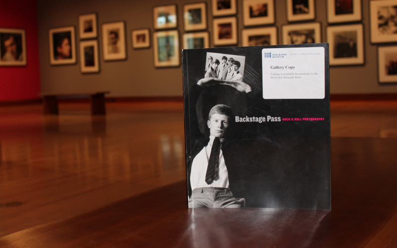 Hurry Hurry! See the rarely seen Rock & Roll Photographs at Shelburne Museum!