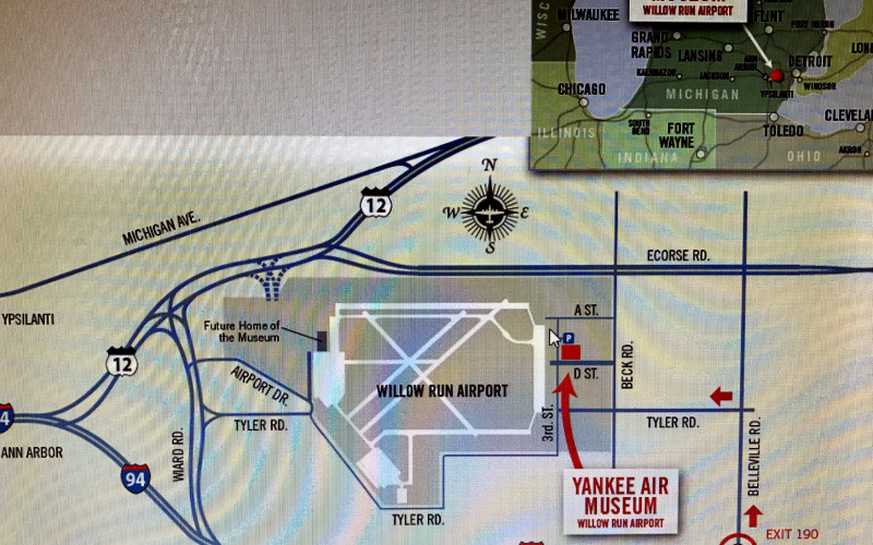 Yankee Air Museum May event at Willow Run Airport Ypsilanti, MI