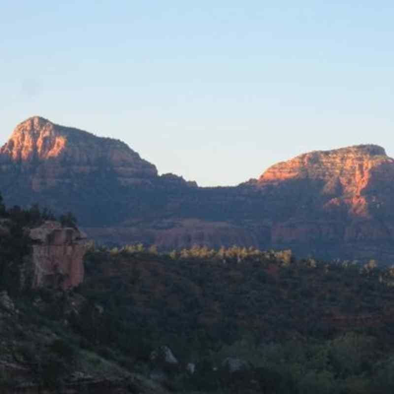 amazing views from THE MORNING GLORY SUITE - SEDONA VIEWS B&B