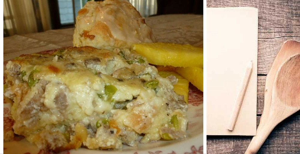 Favorite Recipe: Signature Egg & Sausage Strata