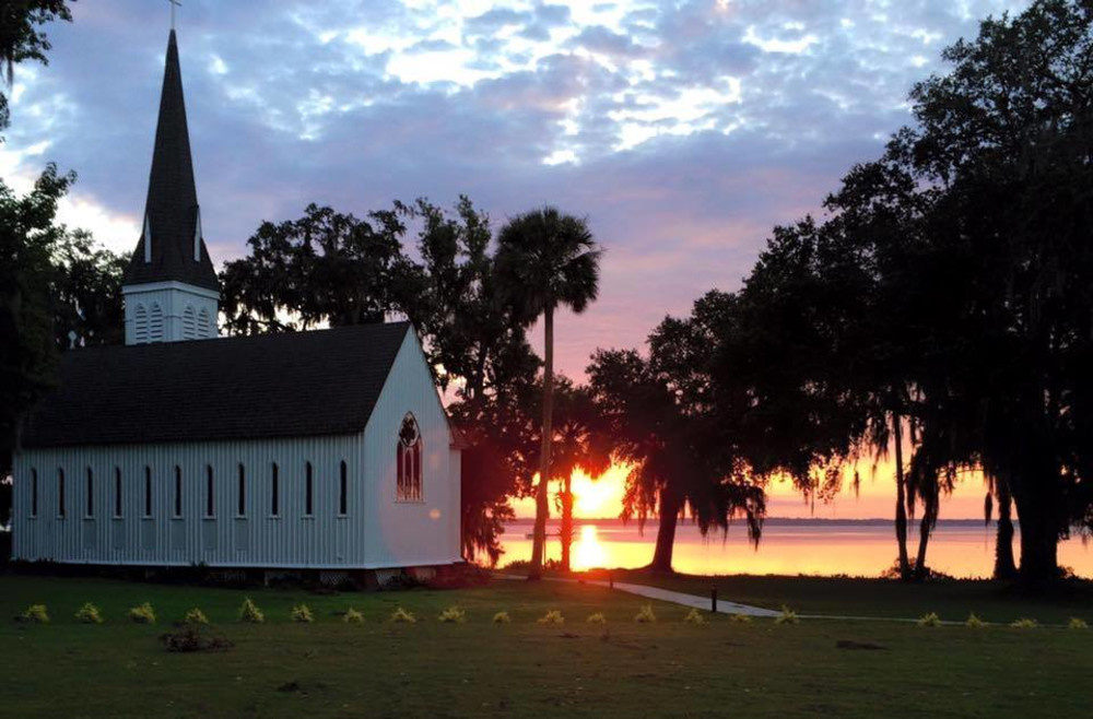 Historic River Church near St. Augustine, FL