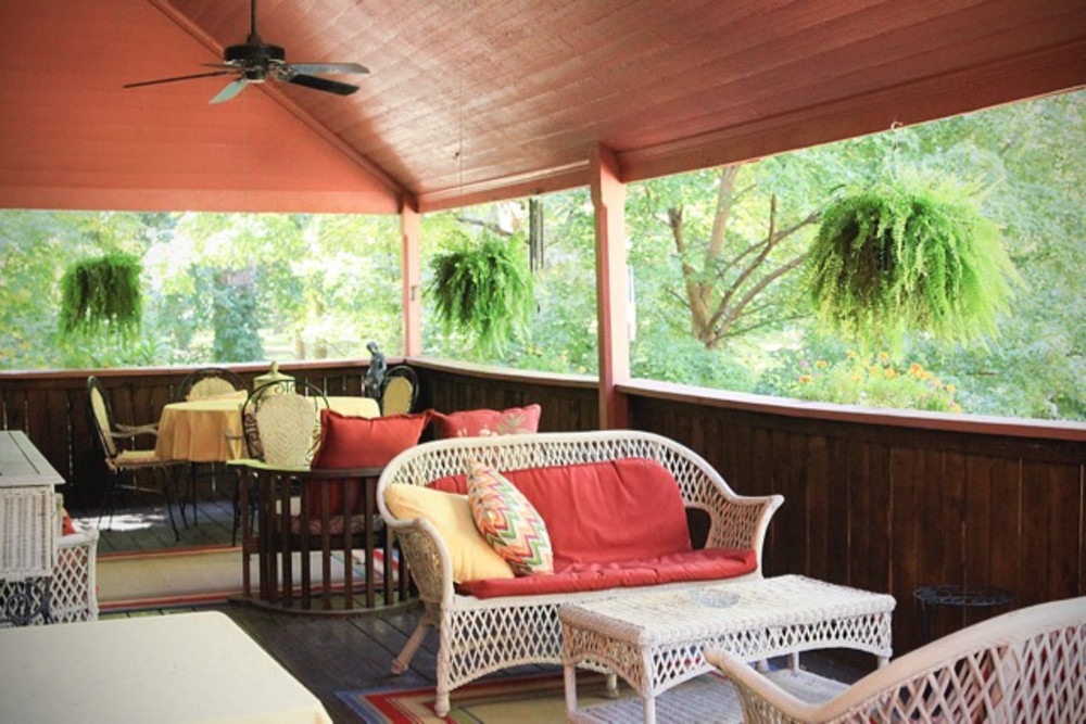 Spring has Sprung:  Enjoy the Veranda at the Inn at the Park