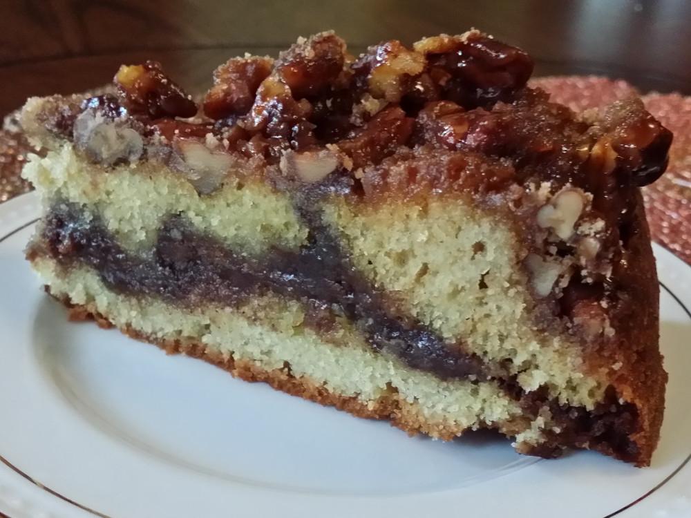 Oscar H. Hanson House B&B Serves Sinful Cinnamon Coffee Cake