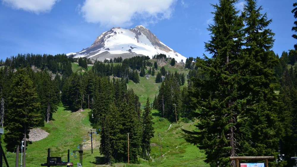 Summertime at Mt Hood Ski Resorts