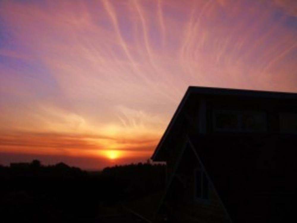 Winter Sunset at Boreas Inn, Long Beach, Washington!