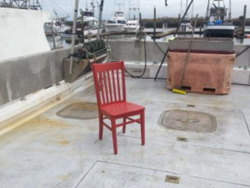 The Red Chair Goes Fishing!