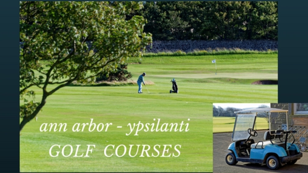 Golf Courses in the Ann Arbor – Ypsilanti area