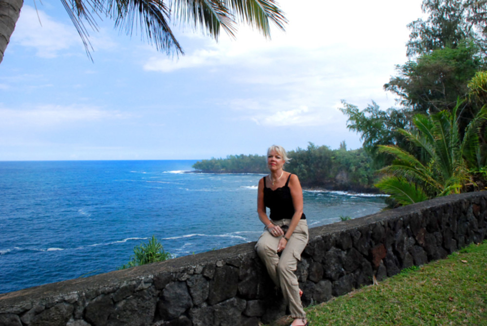 The Palms Cliff House Inn on the Big Island of Hawaii