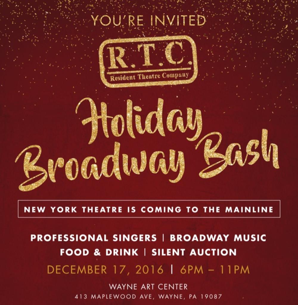 RTC's Holiday Broadway Bash