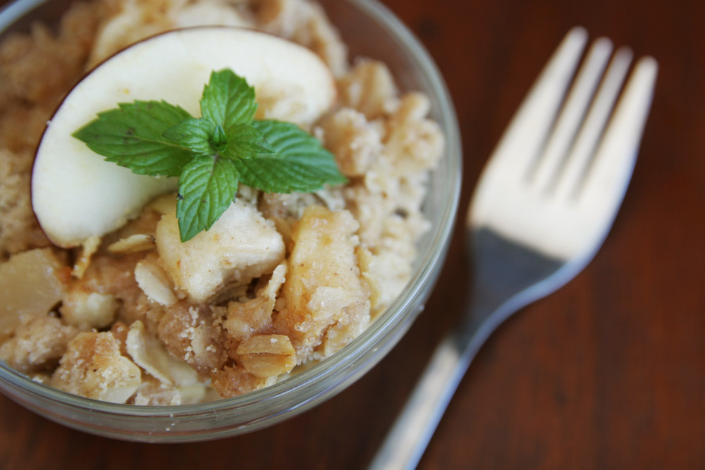 Baked Apple-Raisin Oatmeal