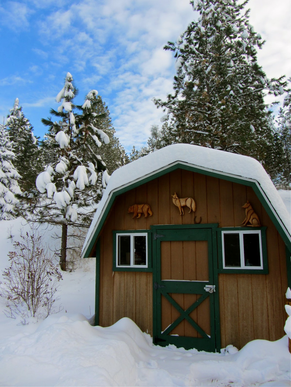 St. Ignatius, Montana Bed and Breakfast in the Winter