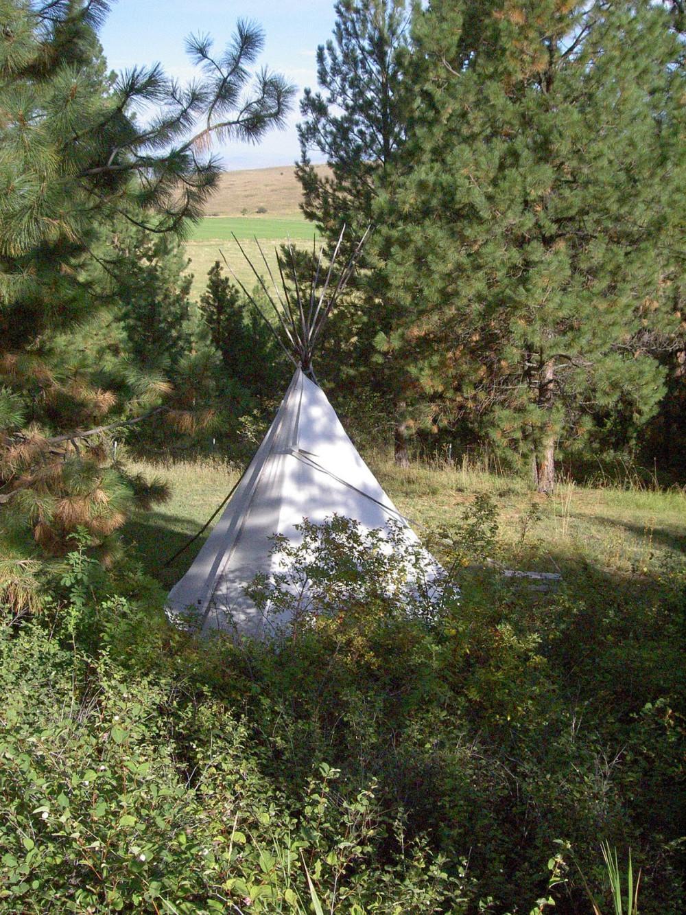 Montana Bear Spirit Lodge Tipi Fun