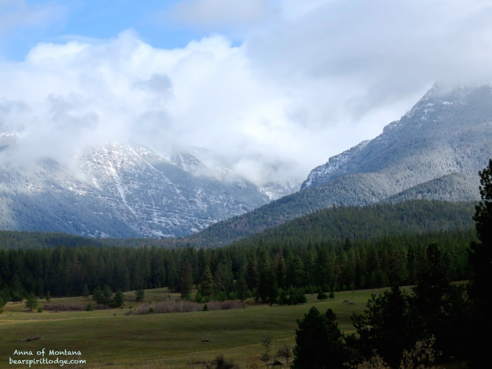 Mission Mountains of Montana, Home of Bear Spirit Lodge B&B