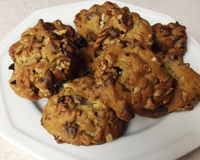 In the Kitchen with Deana - Cherry Chocolate Chip Pecan Cookies
