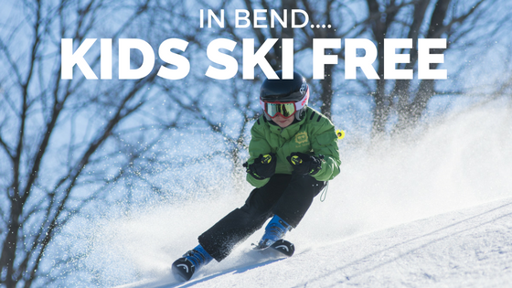 Kids Ski for Free in Bend. What?