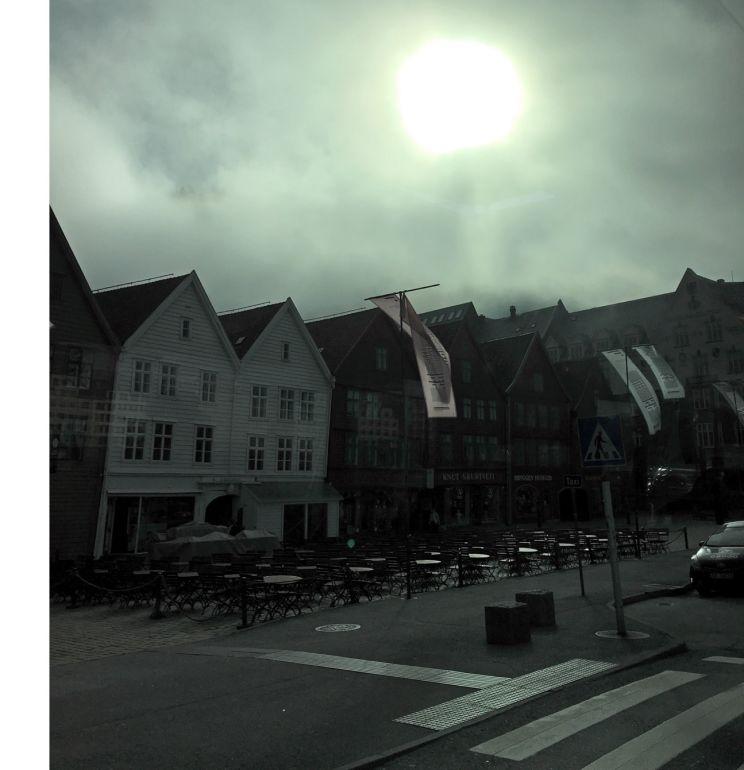 Skywatch Friday - Bryggen
