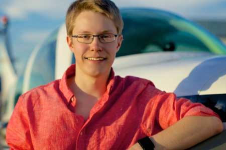 Matt Guthmiller, Pilot termuda ciptakan rekor terbang solo keliling dunia