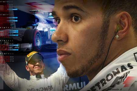 Unggul F1 GP Bahrain, Hamilton kerepotan lawan Rosberg