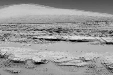 Robot Curiosity, Temukan Susunan Batu Aneh Di Mars