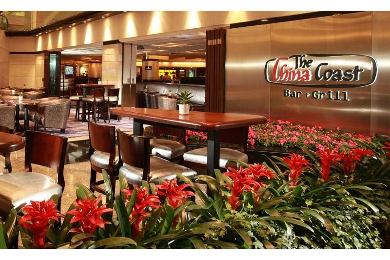 The China Coast Bar + Grill - Regal Airport Hotel