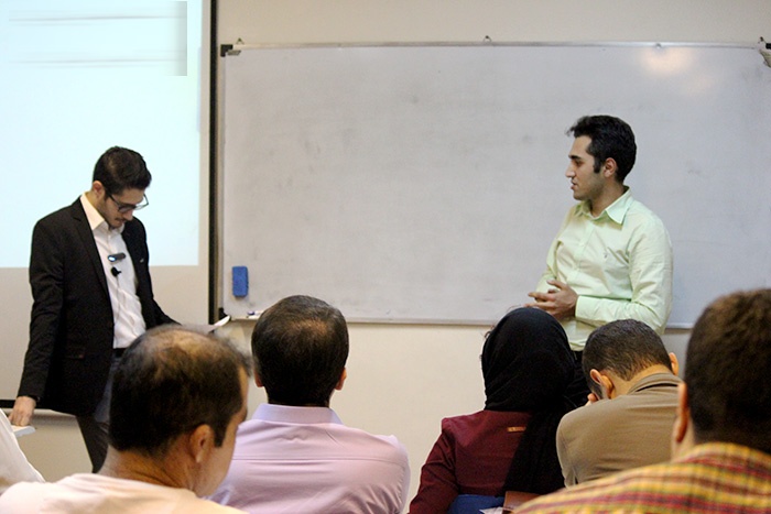 گزارش جلسه پنجم دوره وبمستر پولساز
