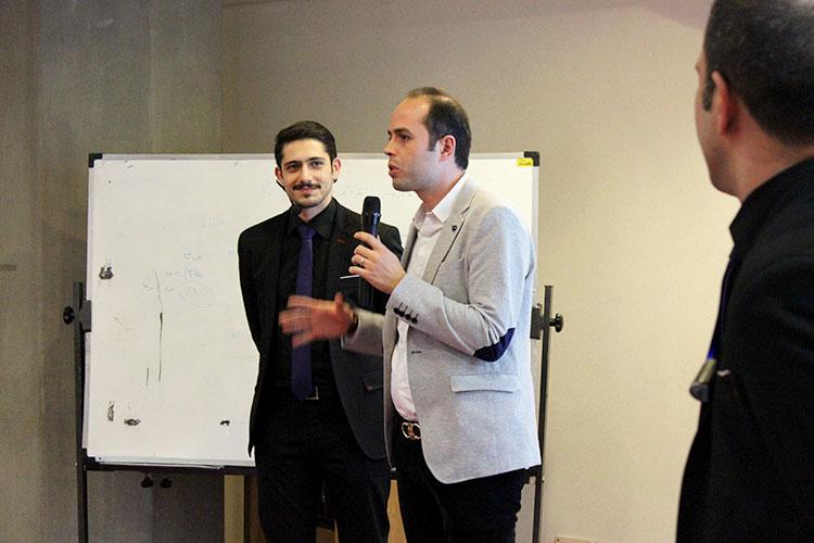 فرید طاهری مهمان ویژه دومین گردهمایی وبمسترها
