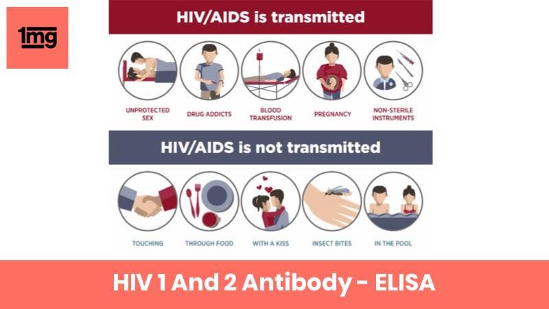 HIV 1 And 2 Antibody - ELISA