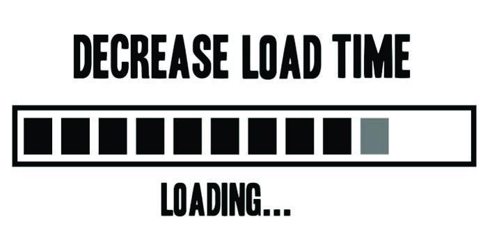 Reduce website loading time