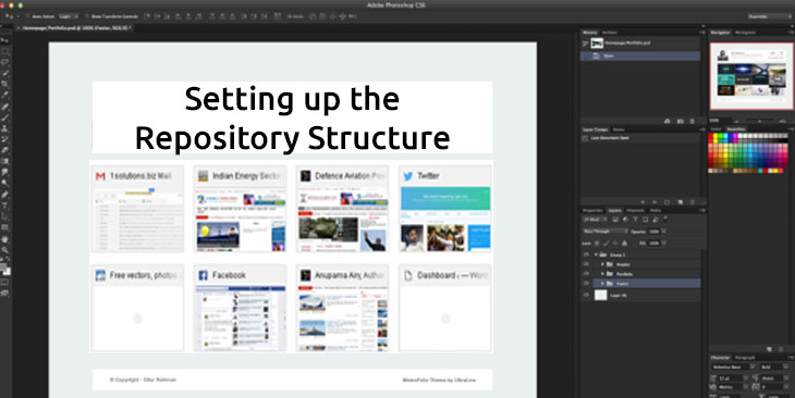 Setting up the Repository Structure