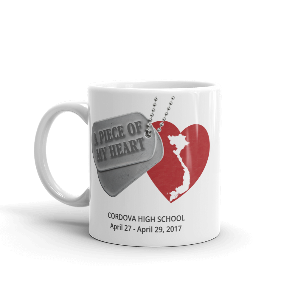 A Piece of My Heart - Mug