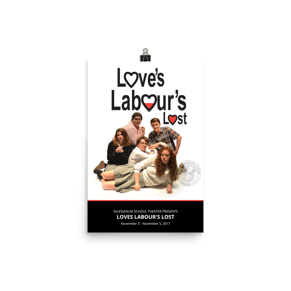 Loves Labours Lost Poster