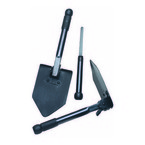 Shovel, Folding Survival w/Saw
