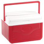 Cooler 5qt Red W Shield Glbl