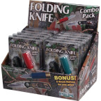 Blister Packed Knife Combo Pack