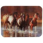 Horse Cutting Board- Rush Hour