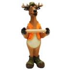 Standing Deer Toilet Paper Holder
