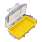 1015 Micro Case, Clear Top Yellow