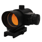 1X40 Red Dot Sight W/ Built In Red Laser