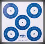Morrell Target 5-Spot Paper