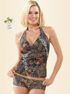 Halter Kini Breakup Camo Medium
