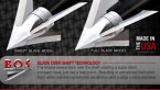 Exodus 100gr Fixed Blade Broadhead Non Barbed Swept