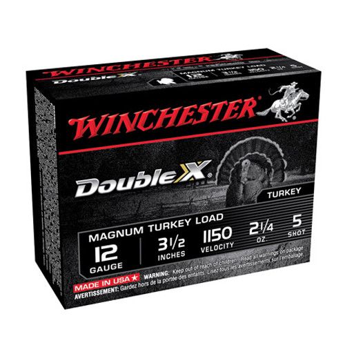 "Supreme� Double X Mag Turkey 12 Gauge 3 1/2"" 2 1/4Oz 5 Shot (Per 10) Md: XXT12L5"