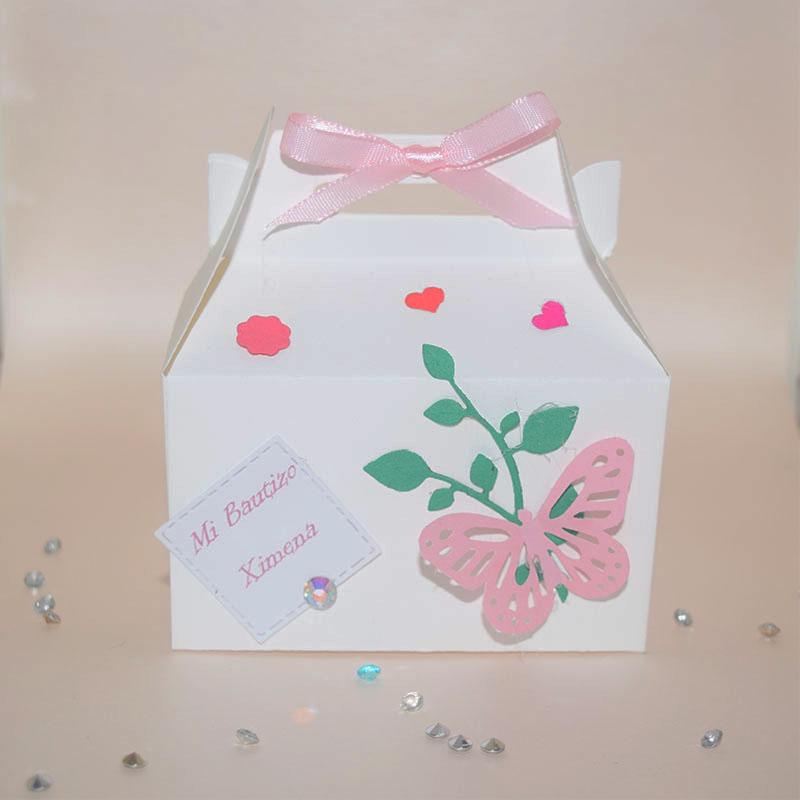 recuerdos dulceros mariposas bautizos baby shower bodas