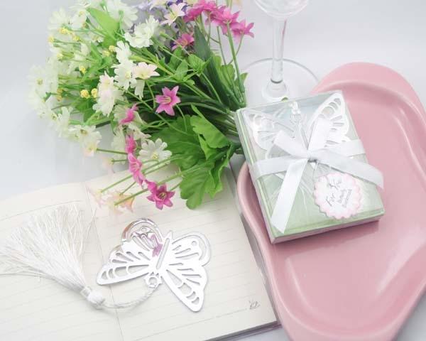 recuerdos para niña separador de mariposa tematico