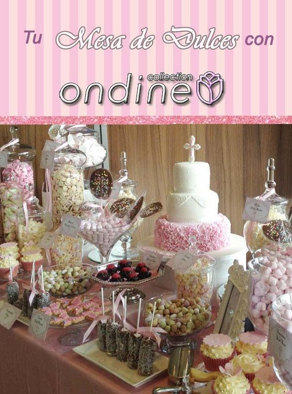Mesas de dulces y postres para boda y bautizos for Mesa de postres para xv