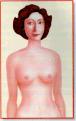 Auto-exame de mamas com o braço caído