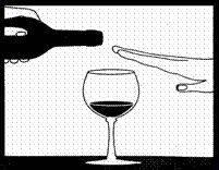 Quantidade de doses alcoólicas saudáveis a ser ingerida. Ou seja, não se considera alcoolismo.