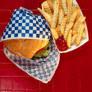 hiperativo não combina com hambúrrger e batatas fritas