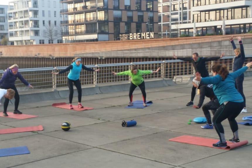 Mobilität beim Training